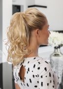 Ponytail Wave Light Gold Blonde