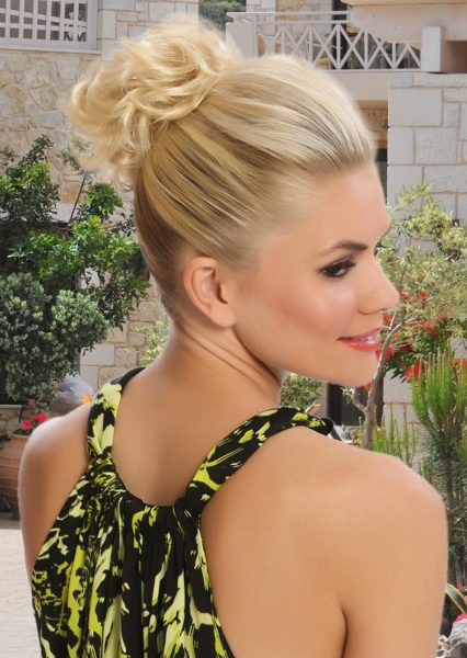 Scrunchie Light Gold Blonde