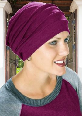 Slouchy 100% Cotton Turban
