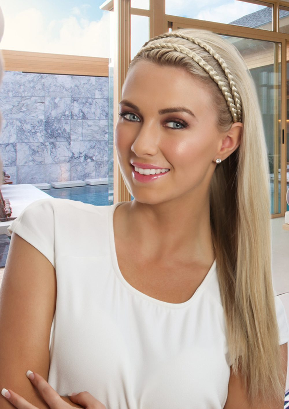 Thick Braided Headband Platinum Blonde 818fd4ba7c9