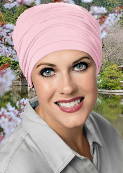 Bamboo Sophisticate Turban Cameo Pink