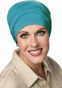 Bamboo Sophisticate Turban Surf
