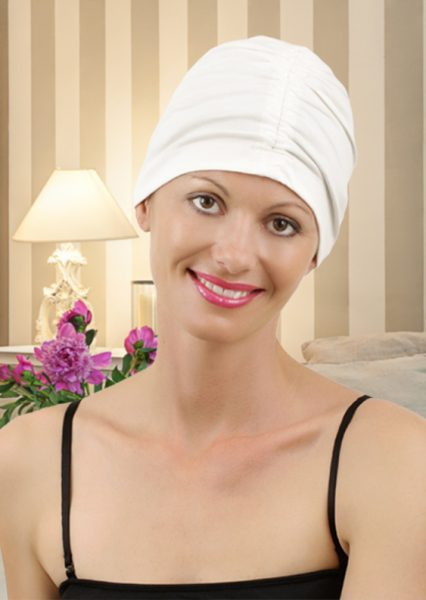 Basic Cotton Turban White
