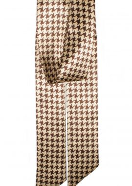 David Jones Print Brown