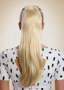 Ponyclip Long Light Gold Blonde