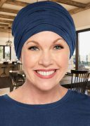 Bamboo Sophisticate Turban Midnight Blue